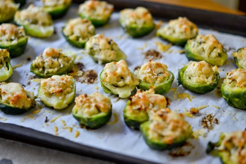 Brussels Sprouts Stuffed with Cheese-14