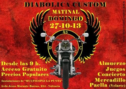 Matinal Diabolica Custom - Valencia