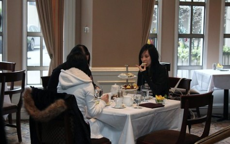 Afternoon Tea at Sutton Place Hotel