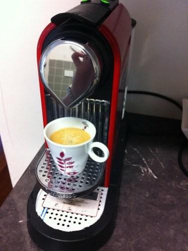 Nespresso Naora in the making