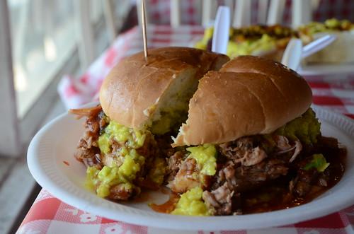 Payne's Chopped Pork Sandwich