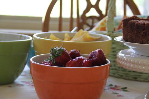Lazy woman\'s fruit salad