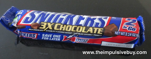 Snickers 3X Chocolate Save for Later