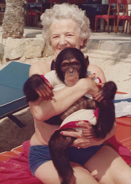 My mother's mother and an ape