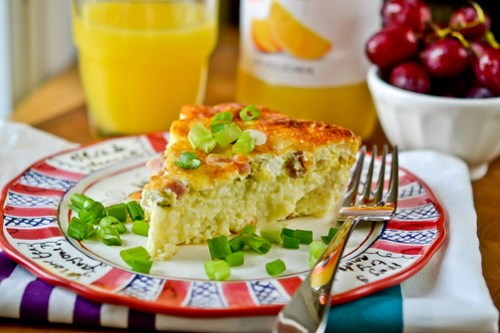 Savory Ham-and-Swiss Breakfast Pie-10