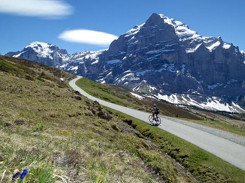 Route between First and Grosse Scheidegg