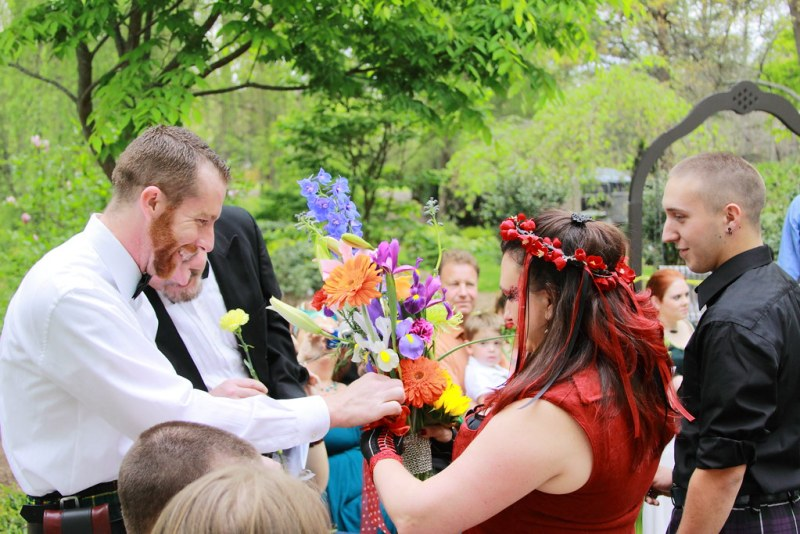 Collecting the Bouquet