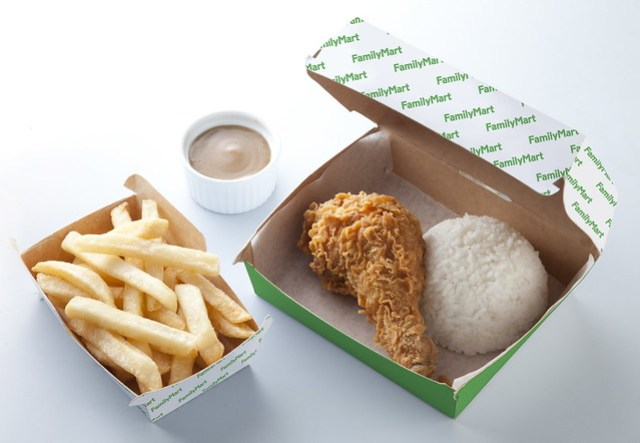 chicken meal and fries