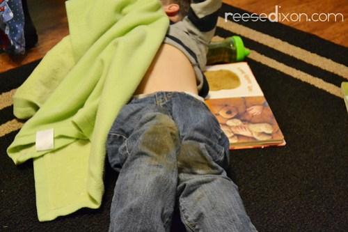 Muddy Knees