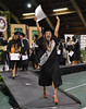 "Many students were elated as they walked off the stage after receiving their diplomas during the commencement ceremony in Hilo on May 16, 2014. For more photos go to <a href=""https://www.flickr.com/photos/53092216@N07/sets/72157644742196091/"">www.flickr.com/photos/53092216@N07/sets/72157644742196091/</a>"
