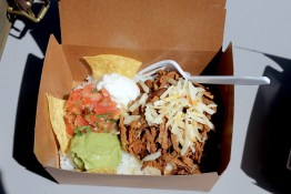 Taco Rice Bowl with pulled pork | Shika Provisions | Bowen Island