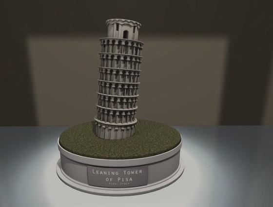PILOT- Tower of Pisa Raw Shot