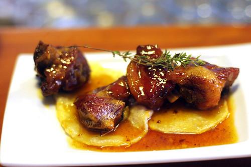 honey ribs in Seville