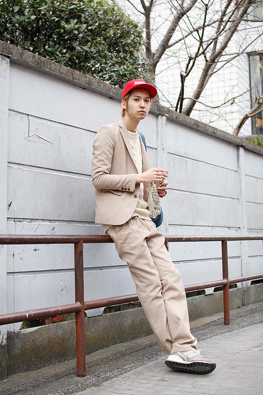Drop Tokyo Street Style - Area- Harajuku,Tokyo | 原宿,東京 Name- Taku Hayase | 早瀬拓