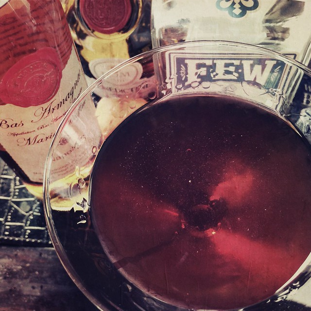 Vieux Carré with Armagnac and Few Rye