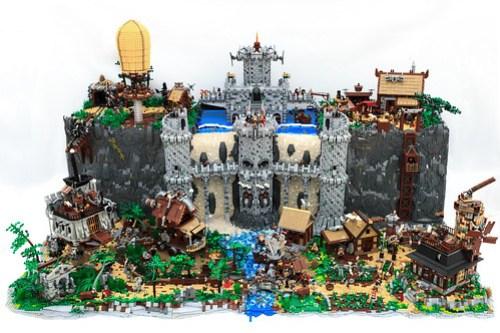 Steam Castle Falls