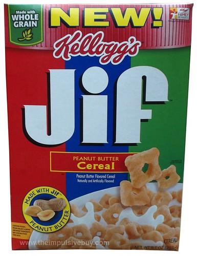 Kellogg's Jif Peanut Butter Cereal