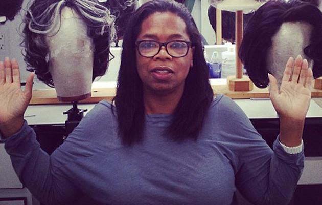 Oprah off duty