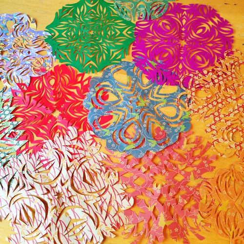 Kirigami paper cuts
