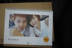 網購|點點印 線上客製♥.製作一個屬於自己的2013年掛曆!