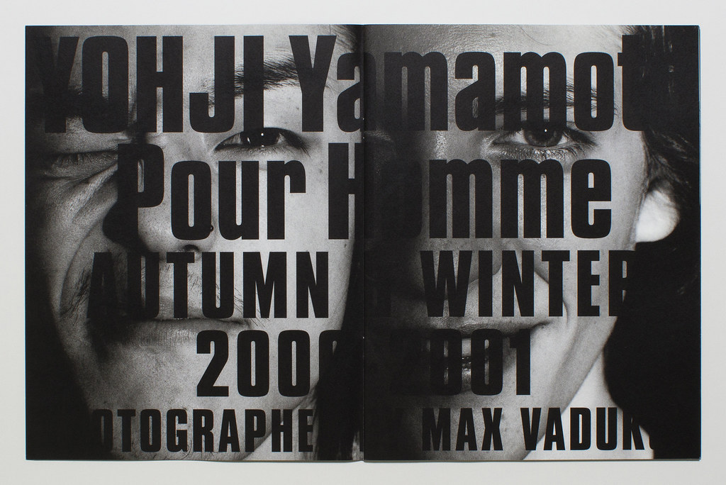 Yohji Yamamoto Pour Homme Lookbook F:W 2000 - 2001