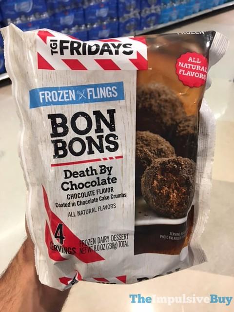 TGI Fridays Frozen Flings Death By Chocolate Bon Bons