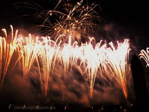 Strange fireworks from Flickr via Wylio