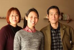 Miju Kawai, Moeno Kawai,  Hiroshi Kawai