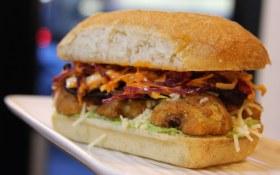Southern Fried Artichoke Sandwich  | The Arbor