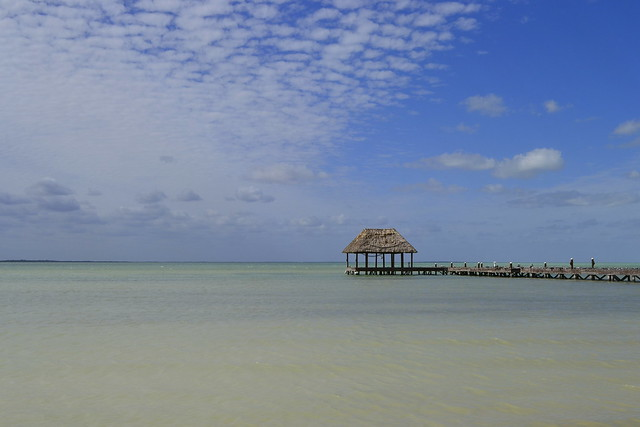 Cancun alternatives _ Pier at Isla Holbox