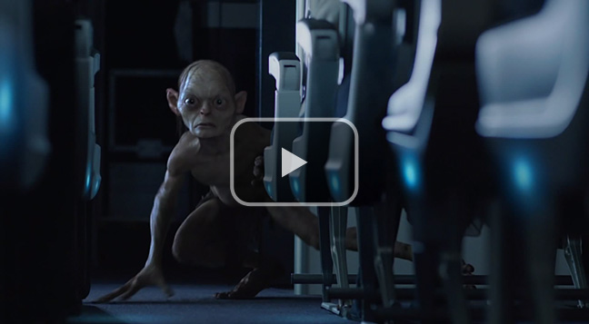 Air New Zealand's 'An Unexpected Briefing' Hobbit air safety video.