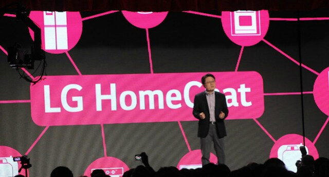 Lg Home Chat Press