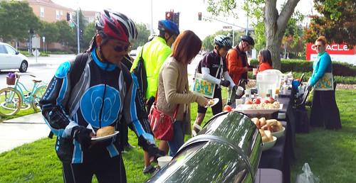 bike to work day San Jose / Santa Clara 2014