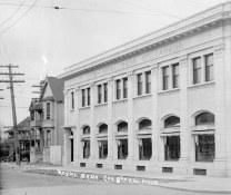 Depencier House and the Royal Bank | Circa 1912