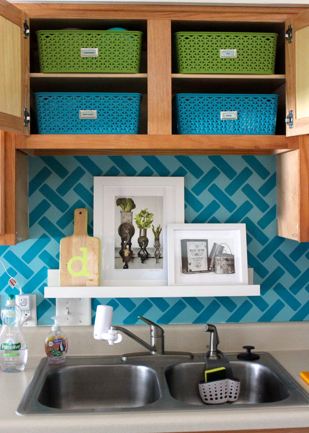 storage ideas for little upper cabinets upper kitchen cabinets Storage Ideas for Little Upper Cabinets Great ideas and solutions for using those small upper