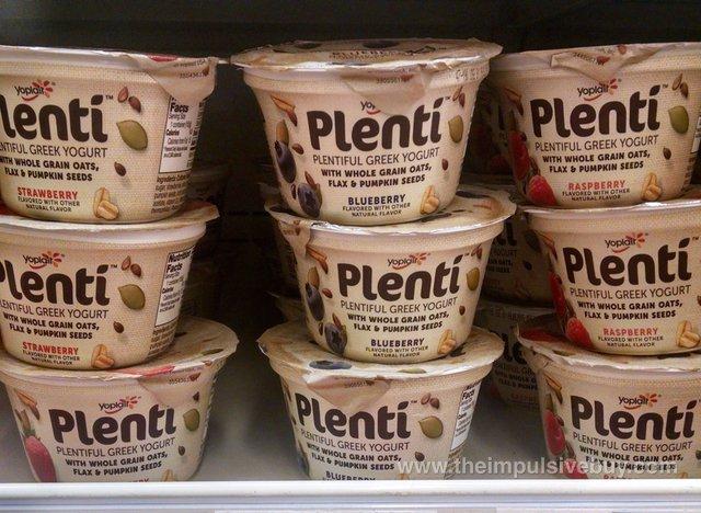 Yoplait Plenti Yogurt (Strawberry, Blueberry, and Raspberry)