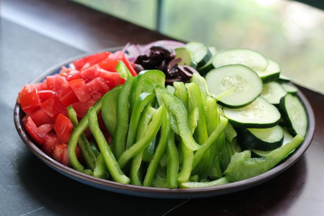 summer greek salad [ inthiskitchen.com ]