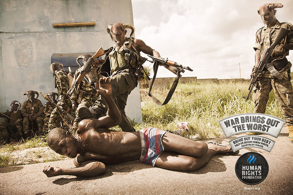 Human Rights Foundation - War 3