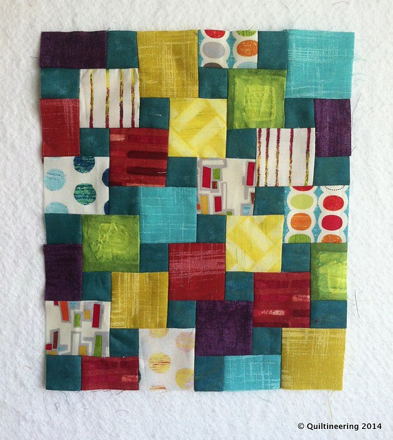 Step Down Piecing Experiment