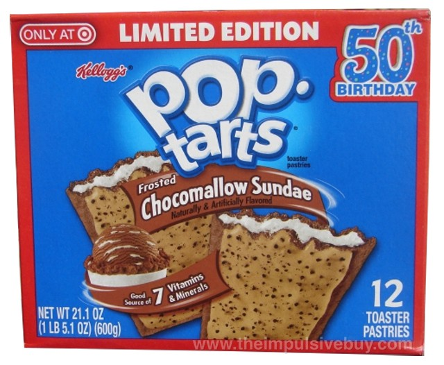 Kellogg's Limited Edition Frosted Chocomallow Sundae Pop-Tarts