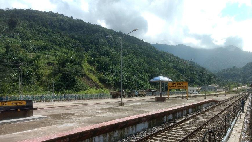 haflong railway station photo