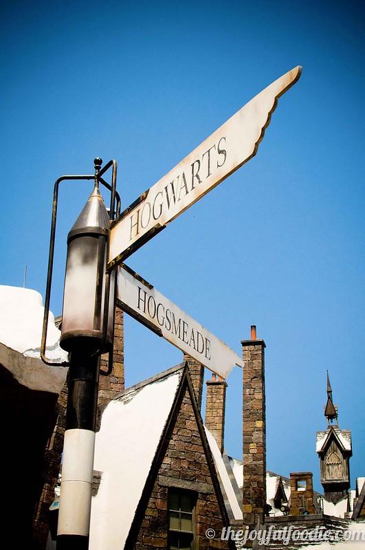Hogwarts Hogsmeade Road Sign