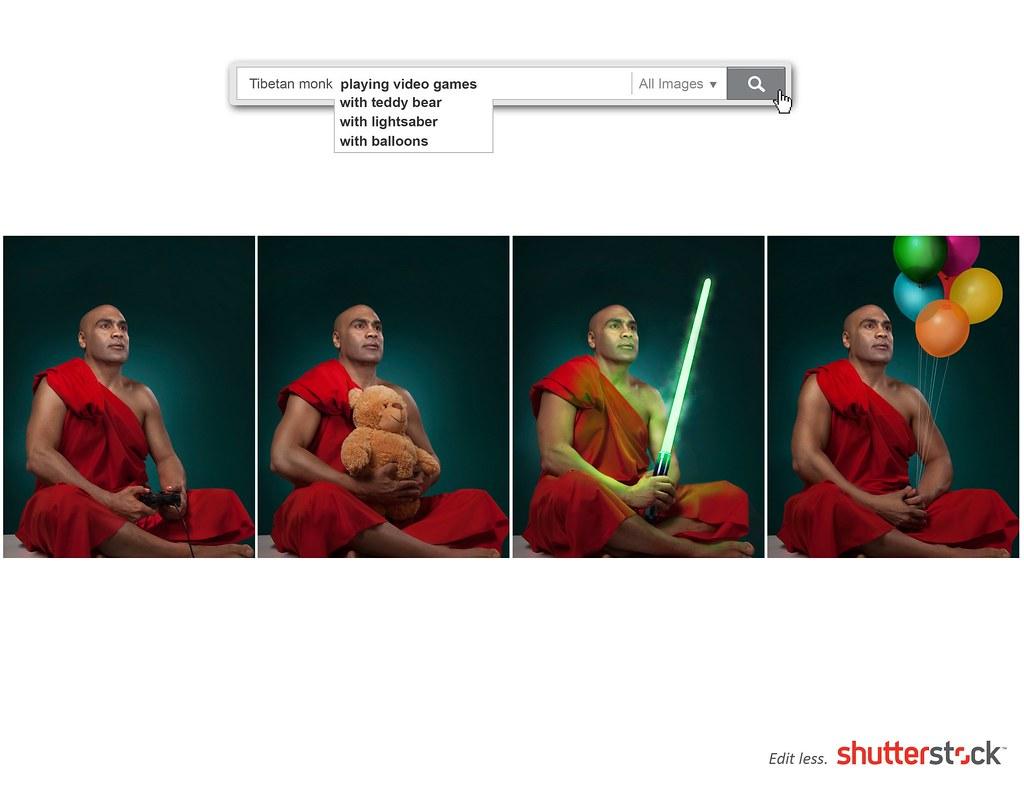 Shutterstock - Monk