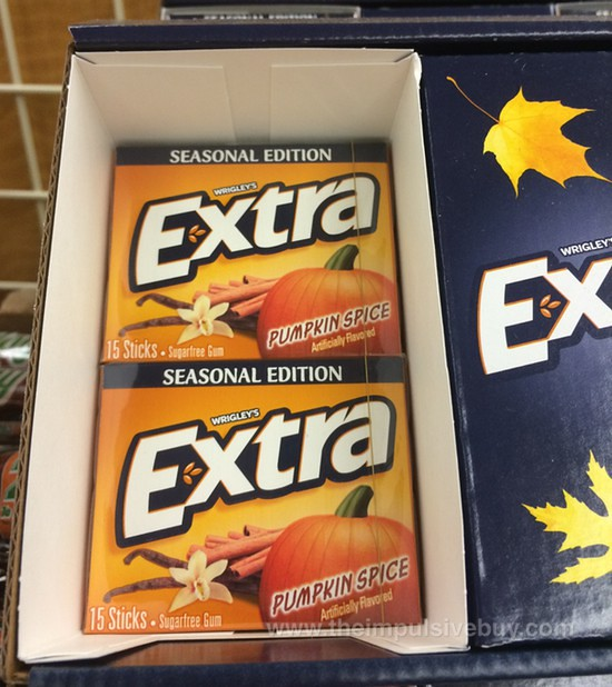 Wrigley's Extra Seasonal Edition Pumpkin Spice Gum