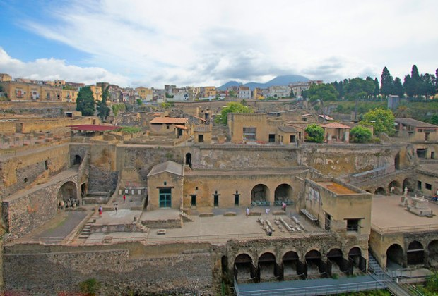 VISIT TO NAPLES, HERCULANEUM