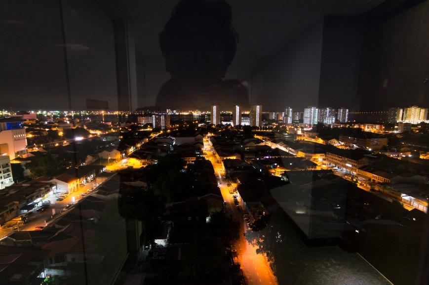 penang george town night photo