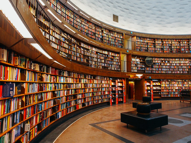 Stockholms stadsbibliotek, Stockholm by square(tea) [user: infinitea]