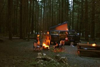 Camping at Alice Lake