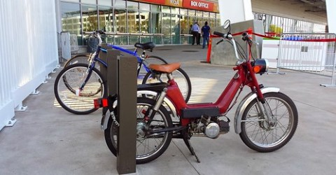 bike racks at Levi's Stadium