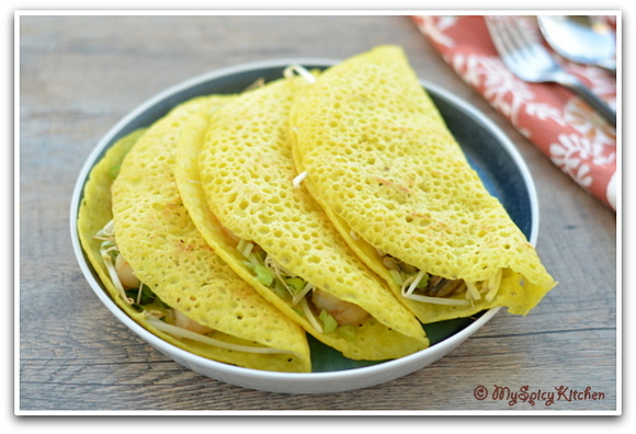 ... in 30 days with ABC cooking, Crepes, Vietnamese dosa, Stuffed Crepes